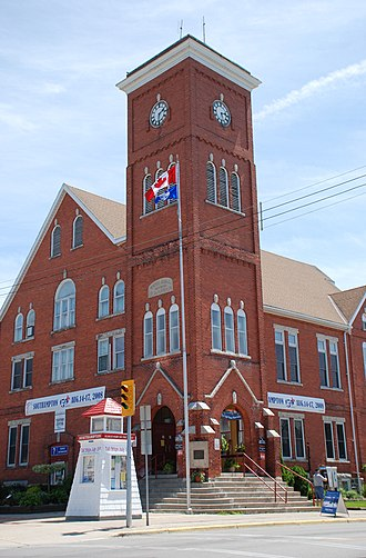 Southampton, Ontario - View of 201 High Street, the traditional Town Hall.