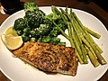 2021-02-23 20 32 58 Herb-grilled salmon, asparagus and broccoli at the Olive Garden in Fair Lakes, Fairfax County, Virginia.jpg