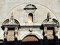 202 Església de Sant Martí de Maldà, detall ornamental de la façana.jpg