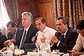21-05-14- Quito Ecuador,Canciller Ricardo Patiño conversó con medios de comunicación sobre la universalización del SIDH y Día Internacional contra Chevron-18 (14259577353).jpg