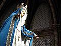 215 Santuari de la Misericòrdia (Canet de Mar), estàtua de la Mare de Déu.JPG