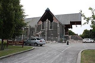 St Lukes Church, Christchurch Church in Christchurch, New Zealand
