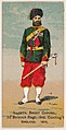 2nd Belooch Regiment, Ind. Conting't, England, 1879, from the Military Series (N224) issued by Kinney Tobacco Company to promote Sweet Caporal Cigarettes MET DPB874100.jpg