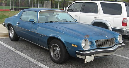 Chevrolet Camaro (second generation) - Wikiwand