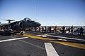31st MEU Marines man the rails aboard the USS Bonhomme Richard (LHD-6) 150625-M-CX588-028.jpg