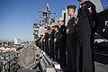 31st MEU Marines man the rails aboard the USS Bonhomme Richard (LHD-6) 150625-M-CX588-079.jpg