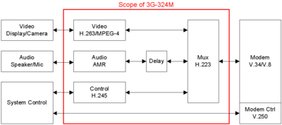 Scope of 3G-324M