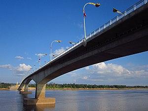 Third Thai–Lao Friendship Bridge - Image: 3rd Friendschip Laos 04
