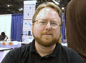 Leonard Kirk - Kirk at the 2008 New York Comic Con