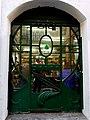 410 Bar Electricitat, c. Atlàntida 61 (Barcelona), façana del c. Sant Carles 15.jpg