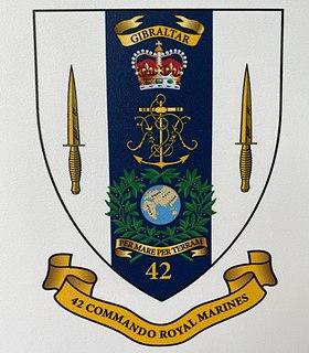 42 Commando battalion sized formation of the British Royal Marines