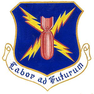 452d Air Mobility Wing - Image: 452dbombwing emblem