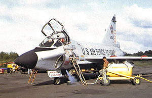 509th Tactical Fighter Squadron - Convair TF-102A-30-CO Delta Dagger 55-4042, Clark Air Base, Philippines, 1962