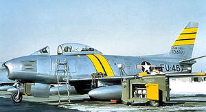 53d Fighter Squadron - 53d FDS F-86F-25-NH Sabre - 51-13467