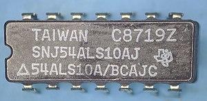 54ALS10 TI 8719 package top.jpg