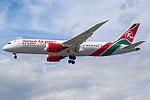 5Y-KZC Boeing 787 Kenya Airways (35427059192).jpg