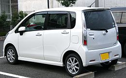 5th generation Daihatsu Move Custom X rear.jpg