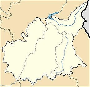 Бра-д'Асс на карте