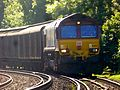 66103 Dollands Moor to Daventry 6M45 (28081089385).jpg