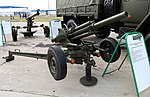 82mm automatic mortar 2B9 Vasilek - Oboronexpo2014part3-27.jpg