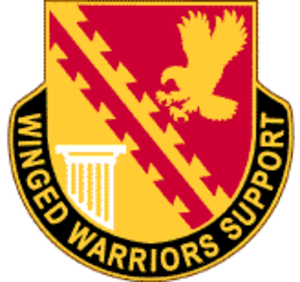 834th Aviation Support Battalion - 834th ASB Unit Crest