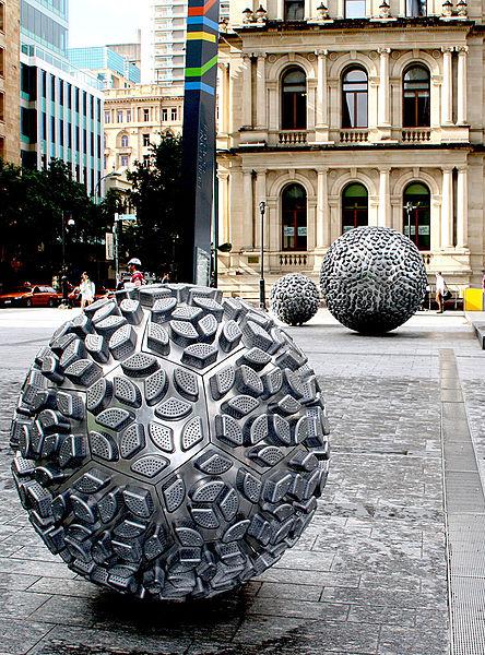 geodesic sculptures