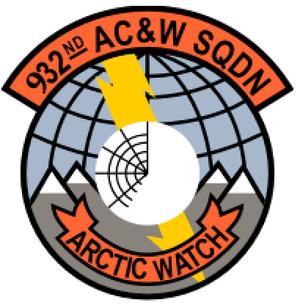 932d Air Control Squadron - Image: 932 Aircraft Control & Warning Sq emblem