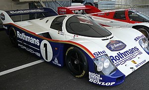 1982 World Sportscar Championship - Porsche 956 - the principle model used by Porsche in its successful challenge for the 1982 World Endurance Championship for Manufacturers