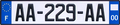 AA-229-AA ref License plate of France.png