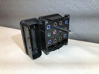 Anti-lock braking system - Electronic control module