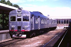 Transperth Trains - ADK/ADB diesel multiple unit at Midland in December 1986