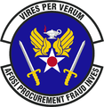 AF OSI Office of Procurment Fraud Investigations emblem.png
