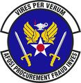 AF OSI Office of Procurment Fraud Investigations emblem.png
