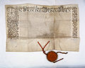 AGAD Potwierdzenie przez króla polskiego Stefana Batorego na sejmie koronacyjnym w 1576 roku praw i przywilejów szlachty Rzeczpospolitej 1.jpg