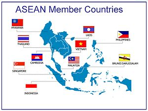 Human trafficking in the People's Republic of China - Countries in ASEAN