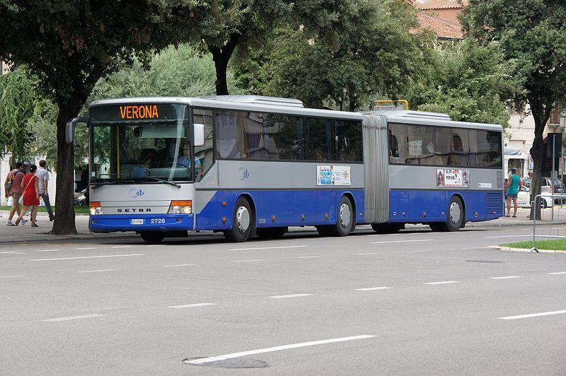Meios de transporte em Verona