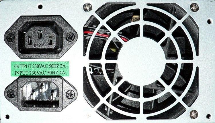 ATX PS back panel