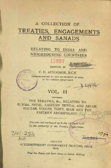 A Collection of Treaties, Engagements and Sanads relating to India and Neighbouring Countries Vol 2 Chunk 1.djvu