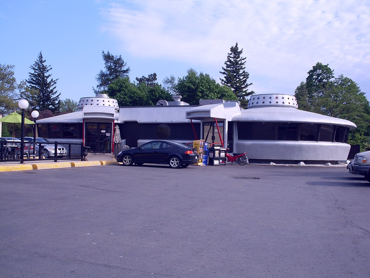 Gas Stations In California >> List of Googie architecture structures (Canada) - Wikipedia