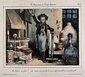 A chemist creates a strange new form of gunpowder - incombus Wellcome V0011774.jpg