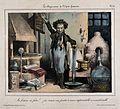 A chemist creates a strange new form of gunpowder - incombus Wellcome V0011774.jpg