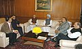 A delegation led by the Leader of the Opposition in Lok Sabha, Shri L.K. Advani calls on the Prime Minister, Dr. Manmohan Singh, in New Delhi on November 16, 2006.jpg