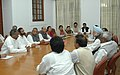 A delegation of Congress MPs from Andhra Pradesh calling on the Prime Minister, Dr. Manmohan Singh , at Parliament House, in New Delhi on December 11, 2009.jpg