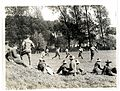 A football match. Gurkhas versus a Signal Company (St Floris, France). Photographer- H. D. Girdwood. (13875713905).jpg