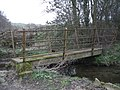A footbridge over a stream - geograph.org.uk - 1206104.jpg