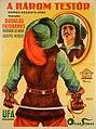 A három testőr magyar filmplakát (Nemes György, 1926).jpg