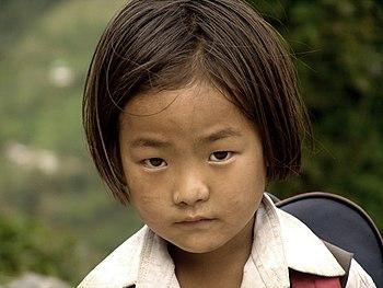 Girl in Sikkim