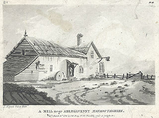 A mill near Abergavenny, Monmouthshire
