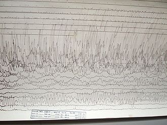 2011 Tōhoku earthquake and tsunami - A seismogram recorded in Massachusetts, USA