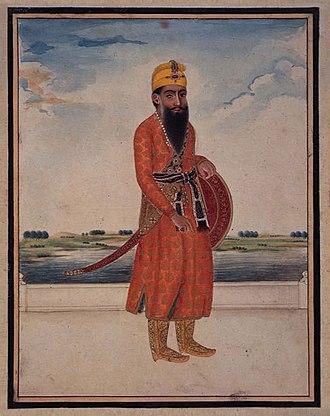 Ranjit Singh - Maharaja Ranjit Singh circa 1816–29